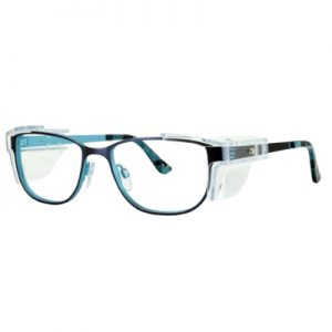 Safety Spex Icejem Premium Safety Glasses IJ110 Teal/Blue