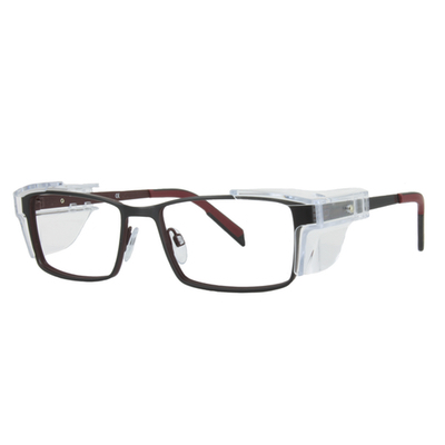 Safety Spex Icejem Premium Safety Glasses IJ111 Red/Matt Black