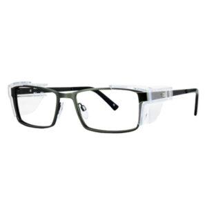 Safety Spex Icejem Standard Safety Glasses IJ111 Dark Green