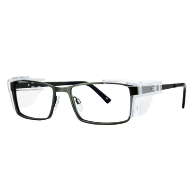 Safety Spex Icejem Standard Safety Glasses IJ111 Dark Green