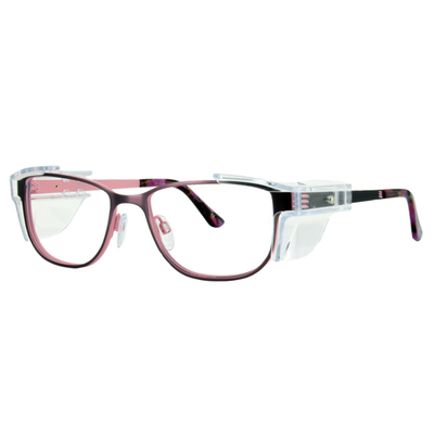 Safety Spex Icejem Premium Safety Glasses IJ110 Pink/Purple