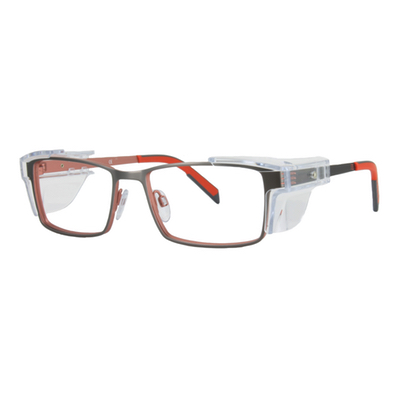 Safety Spex Icejem Premium Safety Glasses IJ111 Orange/Gun