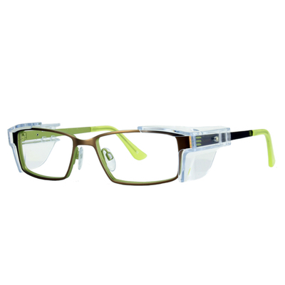 Safety Spex Icejem Premium Safety Glasses IJ112 Green/Brown