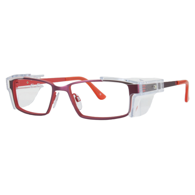 Safety Spex Icejem Premium Safety Glasses IJ112 Matt Red/Burgundy