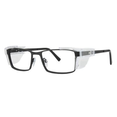 Safety Spex Icejem Standard Safety Glasses IJ111 Matt Black