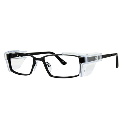 Safety Spex Icejem Standard Safety Glasses IJ112 Matt Black